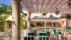 Beverly Hills Hotel Beverly Hills, California Cabana Café -DG