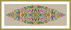 Items similar to Antique Tapestry Ornament Stylized Flowers Motif Pointed Oval Shape Lens Shape Multicolor Counted Cross Stitch Pattern PDF on Etsy Old Hands, Dmc Floss, Colorful Pictures, Colorful Backgrounds, Cross Stitch Patterns, Outdoor Blanket, Tapestry, Hand Painted, Shapes