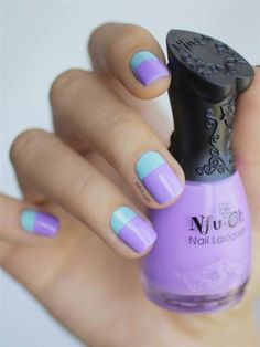 Check out this DIY from SoNailicious to find out how to design the perfect dot on your nail. Be edgy in shimmery pink with nail polish from Beauty.com.