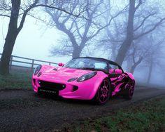 Pink & black Lotus Elise