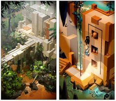 『Lara Croft GO』8月27日海外配信決定、モバイル用スピンオフパズル | Game*Spark - 国内・海外ゲーム情報サイト