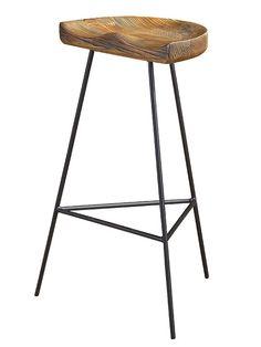 Hilltop Oak Wood Barstool | Modern Furniture • Brickell Collection