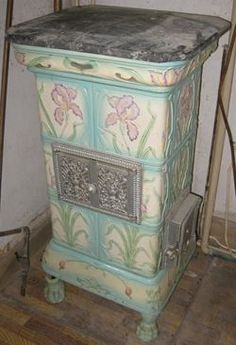 poeles en fa ence et en fonte po les en fa ence anciens fireplaces masonry heaters pinterest. Black Bedroom Furniture Sets. Home Design Ideas