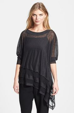 Komarov Asymmetrical Tunic available at #Nordstrom