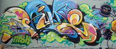 Rime. MSK. Graffiti.