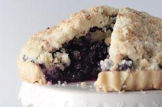 Blueberry Lemon Crumble Tart
