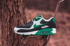 Nike Shoes Men s Air Max 90 Essential Black Stadium Green - Landau Store -  Product Review - March 16 1200ae4a9