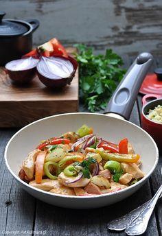 Drobiowe ragoût z warzywami i rozmarynem / Chicken ragoût with vegetables and rosemary