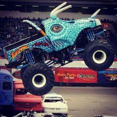 """@Kara Hauenstein Like Trucks's photo: """"Cool #monster #truck!"""" #MonsterTrucks"""