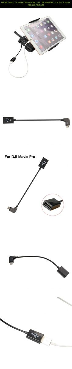Phone Tablet Transmitter Controller USB Adapter Cable For Mavic Pro Controller #drone #pro #products #racing #technology #fpv #mavic #plans #gadgets #camera #kit #tech #parts #shopping #transmitter