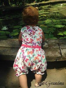 This sweet little butterfly dress was a hand-me-down from a cousin. When my daughter asked me to make this little girl some r. Kids Clothes Patterns, Sewing Patterns Free, Free Sewing, Clothing Patterns, Dress Patterns, Sewing For Kids, Baby Sewing, Toddler Dress, Baby Dress