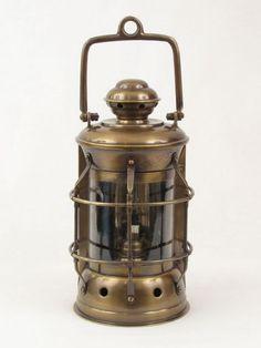 Enlarge Antique Brass Masthead Lantern 11
