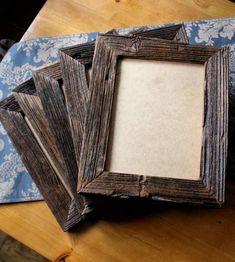 Ramki na zdjęcia- stare drewno - manufakturapt - Ramki na zdjęcia