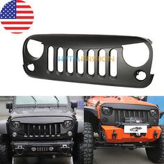 Cool Angry Birds Front Grille For Jeep Wrangler JK Unlimited 2/4 Doors 2007~14