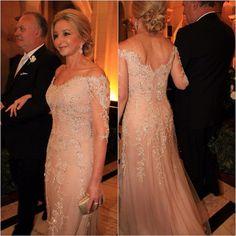 vestido por Paulo Dolce, mãe da noiva, wedding, dress,