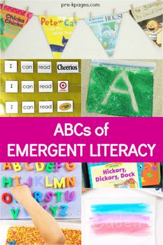 The ABCs of Emergent Literacy - Pre-K Pages