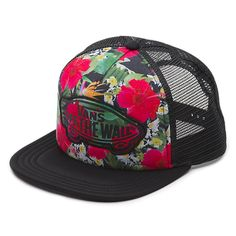 711746ab9ac6e7 Beach Girl Trucker Hat Vans Hats