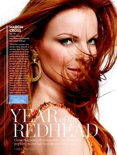 love the red hair love the attitude love the lesson of Marcia Cross being Bree Van de kamp Beautiful Red Hair, Beautiful Redhead, Love Hair, Beautiful People, Hair Color Shades, Red Hair Color, Lauren Ambrose, Marcia Cross, You Look Pretty