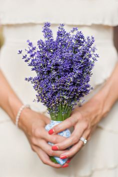 Hottest 7 Spring Wedding Flowers---rustic wedding bouquets with lavender, purple wedding colors, outdoor wedding flowers, wedding ceremony ideas Lilac Wedding, Spring Wedding Flowers, Wedding Bouquets, Dream Wedding, Bridesmaid Bouquets, Bridesmaids, Wedding Colors, Lavender Weddings, Summer Wedding