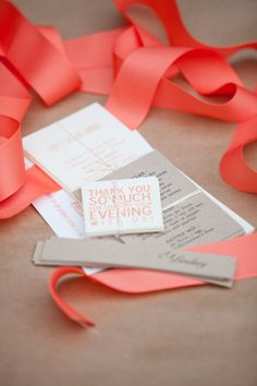 Thank You cards: http://www.stylemepretty.com/collection/2139/