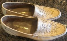 Nice Men's Vintage Tan Freeman Slip on Casual Dress Loafers Size 11 N | eBay