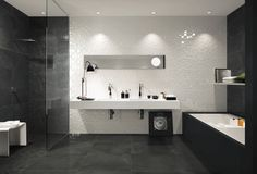 Kitchen tile / for bathrooms / indoor / wall-mounted - LUMINA SQUARE - FAP ceramiche