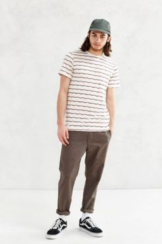 Native Youth Jacquard Stripe Tee - Urban Outfitters