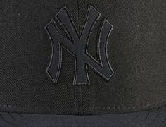 Custom New York Yankees Buck Tone-Black 59Fifty Fitted Baseball Cap by NEW ERA x MLB