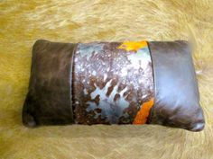 Combination Exotic Acid Wash Leather Cowhide Pillow Tan & Tanner Hides,http://www.amazon.com/dp/B00I2TY6HE/ref=cm_sw_r_pi_dp_zUPatb11Z78P33Q5