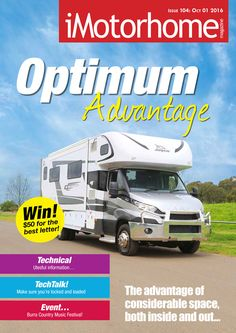 Issue 104 of iMotorhome Magazine is now available for free download from our website.