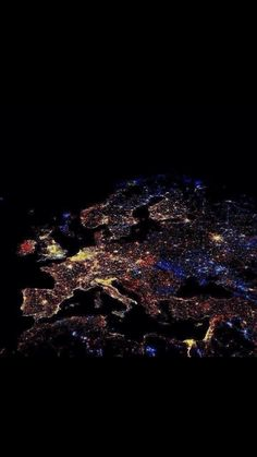 Idea for a full chest peace... Europe @ midnight on Hogmanay 2015