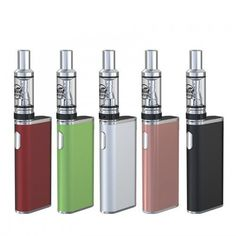 Eleaf iStick Trim Starter Kit comes with a thin & compact size, easy to use and convenient to carry. Features a built-in battery with 2A quick charge, supports 3 levels of output power for options. LOG IN TO GET A BETTER PRICE!