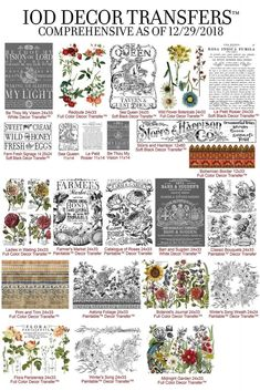 IOD Decor Transfers for painted furniture projects and DIY home decor - Shangri-La Lane Decoupage Furniture, Paint Furniture, Shabby Chic Furniture, Furniture Projects, Furniture Makeover, Decoupage Ideas, Furniture Removal, Furniture Refinishing, Furniture Companies