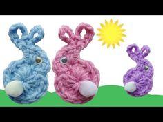 Free Easter Crochet Patterns Easter Bunny Babies Fridgies Free Crochet Pattern Right Handed Free Easter Crochet Patterns 25 Easter Crochet Patterns. Free Easter Crochet Patterns So Many. Easter Crochet Patterns, Crochet Bunny, Crochet Patterns For Beginners, Knitting For Beginners, Cute Crochet, Crochet Motif, Easy Crochet, Knitting Patterns, Crochet Gratis