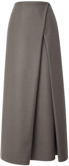 Shop for Wrap Pleat Maxi Skirt by Suno at ShopStyle. Now for Sold Out. Shop for Wrap Pleat Maxi Skirt by Suno at ShopStyle. Now for Sold Out. Modest Fashion, Hijab Fashion, New Fashion, Trendy Fashion, Fashion Clothes, Style Fashion, Winter Fashion, Office Fashion, Dress Fashion