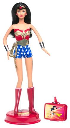 Barbie as Wonder Woman Doll Barbie,http://www.amazon.com/dp/B0000WU1CA/ref=cm_sw_r_pi_dp_-wdFtb15VVK3ZQYY