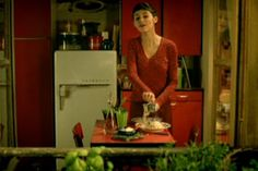 Amelie.  I hate romantic comedies, but this is not your typical girl-falls-in-love, girl-loses-guy, guy-turns-into-Prince-Charming crap. This movie is less about finding love and more about being a good person. amelie-3