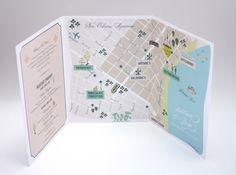 tri fold map