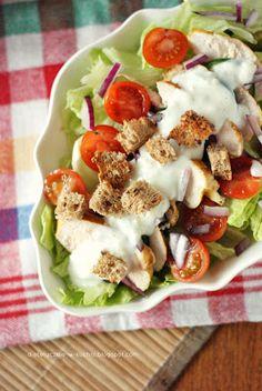 light curry chicken salad