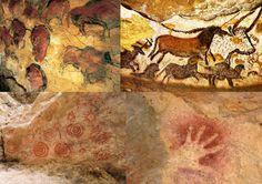 ELEMENTO CURVO - Dentro de la definición de elemento curvo podemos encontrar la acepción que relaciona a este con lo natural, con lo vivo, lo animado. Una acepción unida al arte rupestre que podemos encontrar en las paredes de las cuevas. El hombre de las cavernas tan solo quería dejar constancia de su vida, mostrar a los que estaban y los que vendrían como era estar VIVO entonces. Podemos decir que el arte rupestre afianzó el significado del elemento curvo.