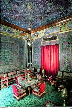 - the Turkish Room. Inside Castles, Peles Castle, Palace Interior, Wall Decor Design, Beautiful Architecture, Beautiful Interiors, Palaces, Old Houses, Egypt