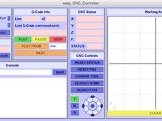 eCNC Control Gui