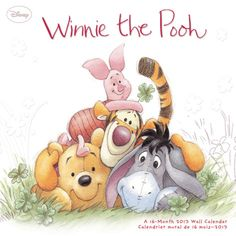 Winnie the Pooh. Seriously, what child didn't love these characters? <3