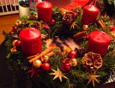 The original 'Adventskranz' - making my own this weekend