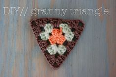 Granny triangle step by step, love it. Thanks so for share xox