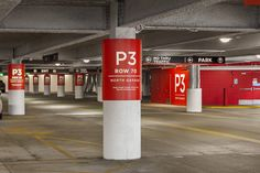 Wayfinding design is often taken for granted. Yet, by creating innovative signage, today's brands can do more than help visitors navigate environments. Parking Design, Signage Design, Providence Place, Hospital Signage, Park Signage, Wayfinding Signs, Design Strategy, Childrens Hospital, Visual Identity