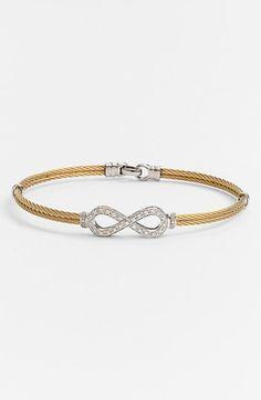 Charriol® 'Classique' Infinity Symbol Station Bracelet   Nordstrom