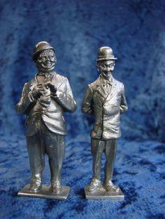 Perth Pewter Laurel & Hardy
