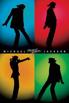 Michael Jackson music poster Sillouette of dance moves - moonwalk Michael Jackson Silhouette, Michael Jackson Poster, Michael Jackson Party, Michael Jackson Images, Michael Jackson Wallpaper, Paris Jackson, Michelangelo, Band Poster, Jackson Music