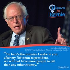 Criminal Justice will be a main theme 1st term